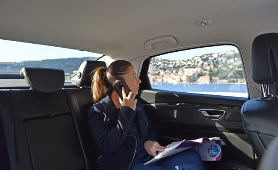 Chauffeur prive VTC plages nice et ports